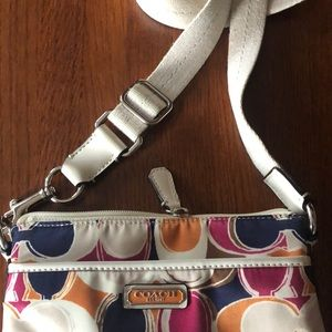 Coach Bags - Updated!: EUC Coach satin crossbody